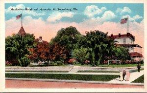 Florida St Petersburg Manhattan Hotel and Grounds