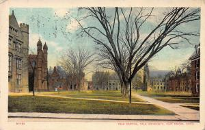 Yale Campus, Yale University, New Haven, Connecticut, 1910 Postcard, Used