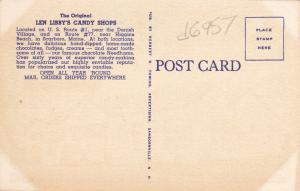 SCARBOROUGH , Maine , 30-40s ; Len Libby's CANDY SHOP