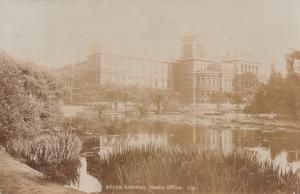 United Kingdom, London, Home Office, 1908 used Real Photo Postcard RPPC
