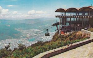 Teleferico, Estacion Pico Del Avila, CARACAS, Venezuela, 1940-1960s