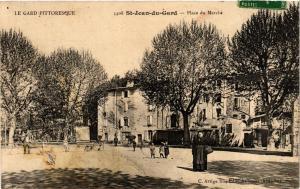 CPA Le Gard Pittoresque - St-JEAN-du-Gard - Place du Marché (299701)