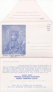 EUREKA , Missouri , 40-60s; Folder Postcard , Black Madonna Shrine