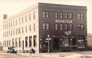 Hotel Evelyn Thief River Falls MN Writing on back