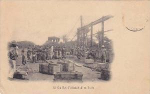 DAHOMEY . 1890s ; Gi-Gla Roi d'Alladah et sa Suite