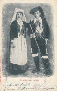 Caprai di Reggio Calabria , Italy , 1900