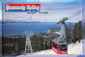 Postcard 1995 Heavenly Valley, Lake Tahoe, Nevada, California, USA, J59