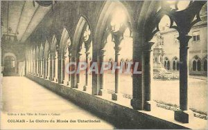 Old Postcard Colmar The cloister of the Museum of Unterlinden