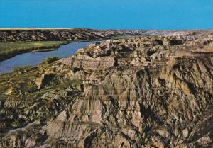 Unesco World Heritage Site, Red River Valley Badlands, Dinosaur Provincial Pa...