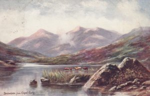 SNOWDON , Wales , UK , 00-10s from Capel Curig ; TUCK #1724