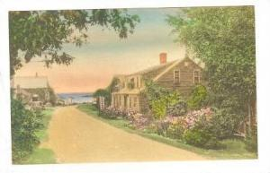 Looking Toward The Whistling Oyster Tea-Deck & Gift Shop, Ogunquit, Maine, 19...