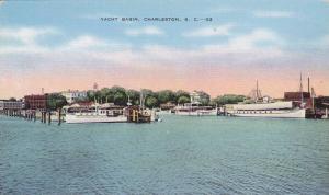 Yacht Basin, Charleston, South Carolina, 1930-1940s