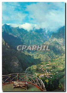Postcard Modern Ilha Madeira Portugal View from the Belvedere Nunnery