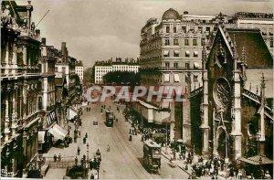 Old Postcard Lyon Rhone Place des Cordeliers