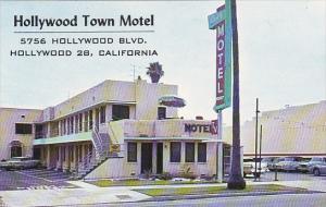 Hollywood Town Motel Hollywood California