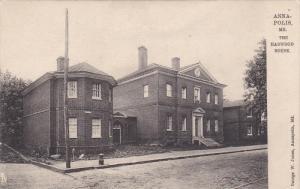 TUCK #2173, ANNAPOLIS, Maryland; The Harwood House, 00-10s