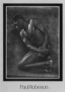 Paul Robeson - Modern card