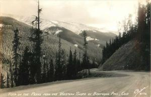 RPPC of Peaks from the Western Slop of Berthoud Pass CO Colorado
