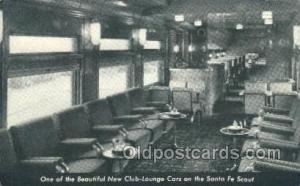 Santa Fe. The Scout, Los Angeles, CA USA Train, Trains, Locomotive, Old Vinta...