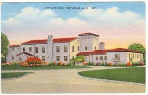 Officers Club, Fort Bragg, North Carolina, 1930-1940s