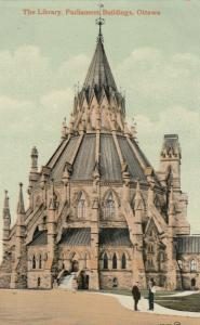 [SOLD] OTTAWA , Ontario , Canada ; 1912 ; Library , Parliament Buildings