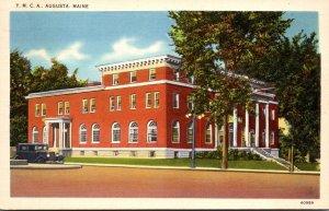 Maine Augusta Y M C A Building 1944
