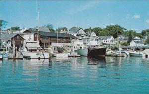 Charter and Fishing Boats, Boothbay Harbor Region, Maine, 1940-1960s