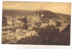 Bird's Eye View Of Clervaux, Luxembourg, 1900-1910s