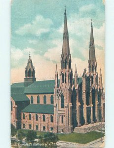 Divided-back CHURCH SCENE Charlottetown Prince Edward Island PE AD1984