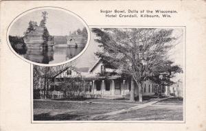 Sugar Bowl, Dells of Wisconsin, Hotel Crandall, KILBOURN, Wisconsin,PU-1910