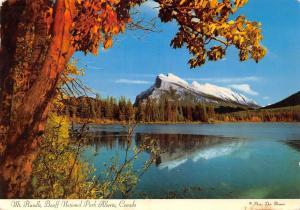 Canada Mt Rundle Banff National Park Alberta