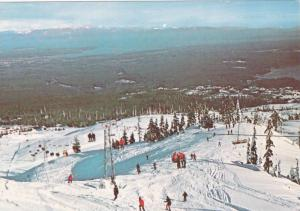 Birdseye View, Forbidden Plateau, Skiing Area, Courtenay, British Columbia, C...