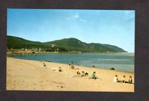 PQ  Beach Plage St Simeon Charlevoix Postcard Carte Postale Quebec Canada
