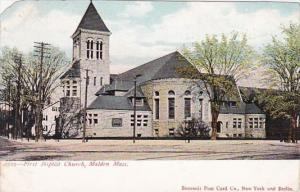 Massachusetts Malden First Bapptist Church