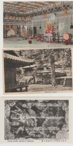 lot of 3 Japan vintage postcards