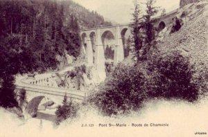 PONT STE-MARIE ROUTE DE CHAMONIX FRANCE