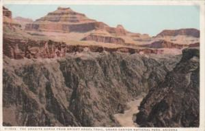 Fred Harvey The Granite Gorge From Bright Angel Trail Grand Canyon National P...