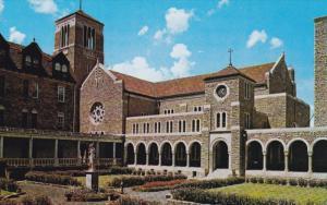 Interior court of St. Benedict´s Church , New Subiaco Abbey , SUBIACO , Arka...