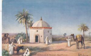 MOROCCO, 1900-1910´s; A Moorish Sainthouse; TUCK # 7428; AS: LM Long