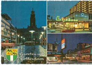 Netherlands, Groeten uit Rotterdam, 1960s unused Postcard