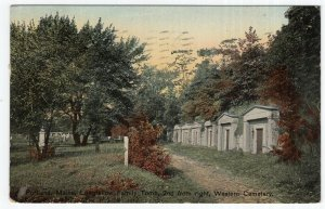 Portland, Maine, Longfellow Family Tomb, 2nd from right, Western Cemetery