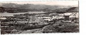 Vintage Panorama Real Photo Cumbria Postcard Windermere from Orrest Head OS84