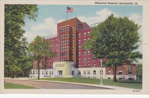 Illinois Springfield Memorial Hospital Curteich