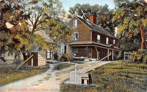 Witch House Pigeon Cove, Massachusetts Postcard