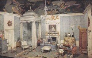 ENGLAND, 1900-10s; The Queens' Dolls' House, Queen's Bedroom, TUCK Series 2