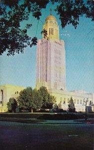 The Nebraska State Capitol Lincoln Nebraska 1964