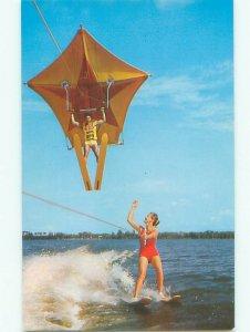 Pre-1980 CYPRESS GARDENS GIRL Winter Haven by Lakeland & Lake Wales FL AF6157