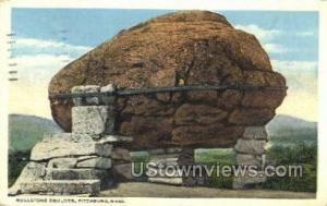 Rollstone Boulder Fitchburg MA 1920