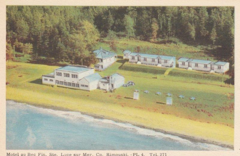 RIMOUSKI , Quebec , Canada , 1930s ; Motel au Bec fin