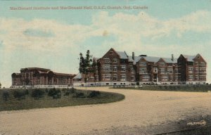 GUELPH, Ontario, Canada, 1918; MacDonald Institute & MacDonald Hall, O.A.C.